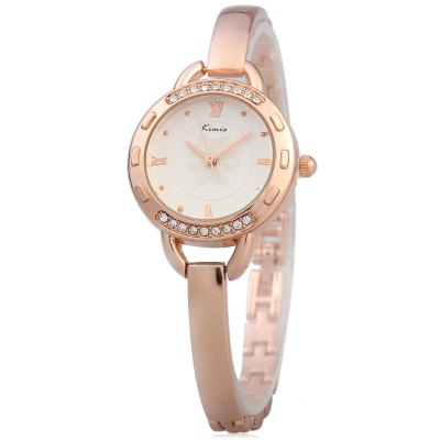 Kimio KW6011S Ladies Diamond Quartz Watch Alloy Band