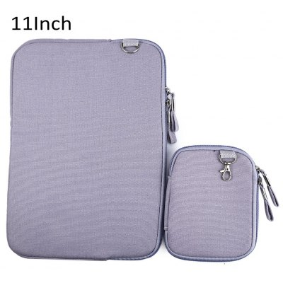 11 Inch Denim Canvas Notebook Sleeve Case Laptop Bag Cover for Macbook Air Pro