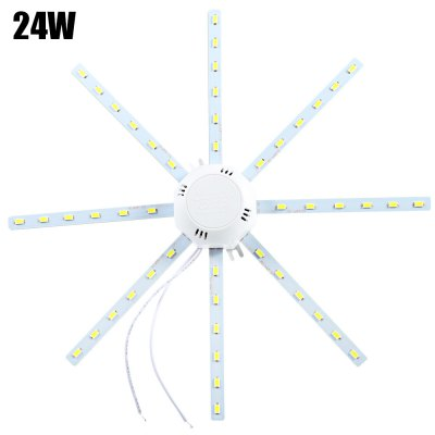 24W 48 x SMD 5730 1920Lm Octagonal LED Ceiling Lamp