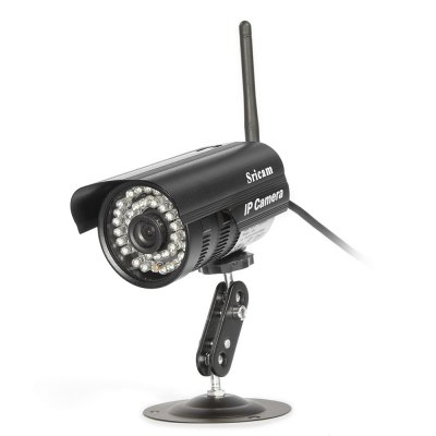 Sricam SP013 720P H.264 Wifi IP Camera Wireless ONVIF SecurityIP Cameras<br>Sricam SP013 720P H.264 Wifi IP Camera Wireless ONVIF Security<br><br>Alarm Notice: Email Photo<br>Audio Compression Mode: G.711<br>Backlight Compensation: Yes<br>Brand: Sricam<br>Compatible Operation Systems: Microsoft Windows 98/ ME /2000/ XP,Windows 7,Windows 8<br>Connection: Wired<br>DDNS (free): Yes<br>Environment: Outdoor<br>FOV: 75 degree<br>Frame Rate (FPS): 25 fps<br>Infrared LED: Yes<br>Infrared Sensitivity: Yes<br>IP camera performance: Motion Detection, Night Vision, Support video control<br>IP Mode : PPPOE<br>Minimum Illumination: 0.1 Lux / F1.2 ( With IR Illuminator )<br>Mobile Access: Android,IOS<br>Model: SP013<br>Motion Alarm : Yes<br>Online Visitor (Max.): 10 people for  LAN, 5 people for WAN<br>Operate Temperature (?): -10 - 60 Deg<br>Operating system: Linux<br>Others: Phone App SriCam<br>Package Contents: 1 x 720P Wireless IP Camera, 1 x Bracket, 1 x Power Adapter, 1 x English User Manual, 1 x Mounting Screw ( Set ), 1 x Spanner<br>Package size (L x W x H): 18.20 x 15.00 x 11.00 cm / 7.17 x 5.91 x 4.33 inches<br>Package weight: 0.6810 kg<br>Pan/Tilt-Vertical Angle (degree) : 75 degrees<br>Pixels: 1MP<br>Product size (L x W x H): 10.00 x 6.60 x 7.30 cm / 3.94 x 2.6 x 2.87 inches<br>Product weight: 0.3100 kg<br>Protocol: ONVIF,P2P<br>Resolution: 1280 x 720,320 x 180,640 x 360<br>Safety: WEP, WPA, WPA2 encryption<br>Sensor: CMOS<br>Shape: Bullet Camera<br>Special function: Night Vision<br>Specification of Power Supply: DC 12V /1A<br>Technical Feature: Infrared<br>Video Compression Format: H.264<br>Video Standard: NTSC,PAL<br>Waterproof: IP66<br>Web Browser: IE<br>White Balance: Yes<br>Wireless: WiFi 802.11 b/g/n<br>Working Humidity (%) RH: 10 - 90 percent RH