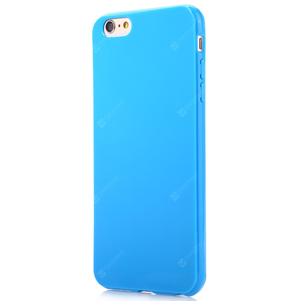 Buy Candy Color TPU Back Case Skin iPhone 6 Plus / 6S BLACK at ...