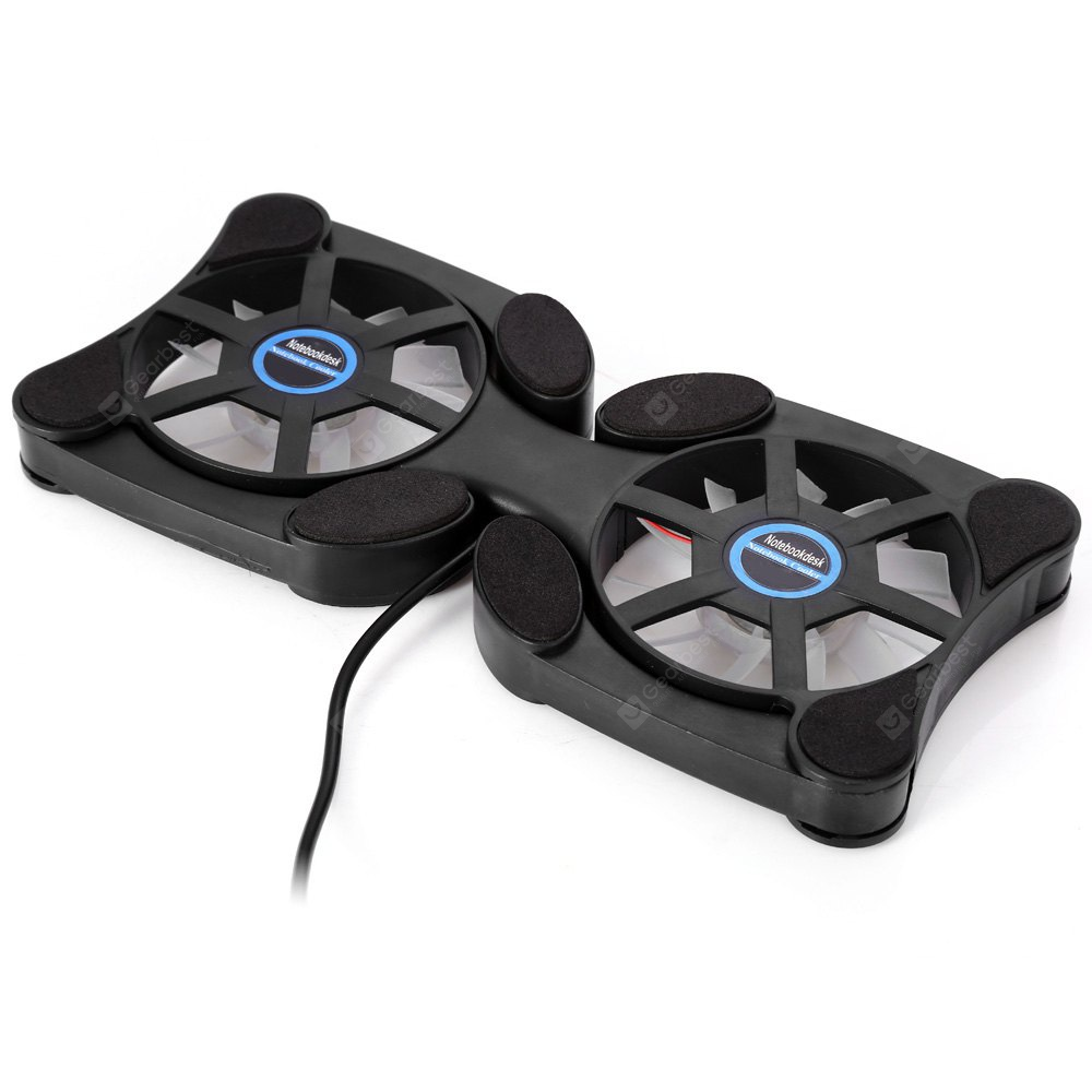 Foldable Laptop Notebook Fan Cooler Cooling Pad USB Powered