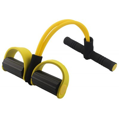 Dynamic Pedal Bodybuilding Expander for Belly Slimming