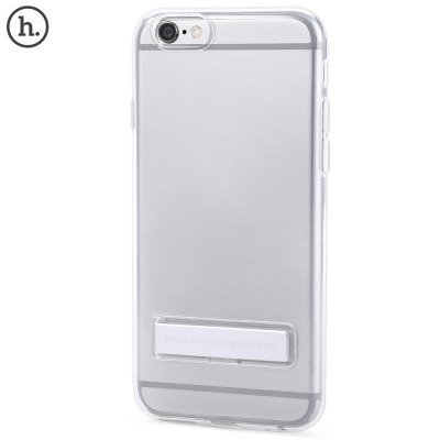 HOCO Transparent TPU Magnetic Stand Phone Case