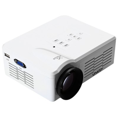 UhAPPy BL - 35 Mini Portable Full HD LED Projector Video Home CinemaProjectors<br>UhAPPy BL - 35 Mini Portable Full HD LED Projector Video Home Cinema<br><br>Brand: Uhappy<br>Model: BL - 35<br>Display type: LCD<br>Native Resolution: 640 x 480<br>Resolution Support: 2000 / 1<br>Projection Distance: 1 - 3.5m<br>Image Size: 30 - 100 inch<br>Lamp Power: 10 W<br>Lamp: LED<br>Interface: Audio Out Port,AV,HDMI,Micro USB,SD Card Slot,TV,USB,VGA<br>Picture Formats: JPG / JPEG / BMP / PNG<br>Video Formats: AVI / MKV / DAT / MOV / MP4 / TS / VOB<br>Power Supply: 5V<br>Audio Formats: MP3 / WMA / AAC / AC3<br>Color: Black,White<br>Product weight: 1.250 kg<br>Package weight: 1.300 kg<br>Product size (L x W x H): 17.00 x 14.50 x 7.00 cm / 6.69 x 5.71 x 2.76 inches<br>Package size (L x W x H): 27.50 x 10.50 x 19.00 cm / 10.83 x 4.13 x 7.48 inches<br>Package Contents: 1 x Simplified Mirco Projector, 1 x Remoter, 1 x 3 in 1 Audio Cable, 1 x Charger Cable, 1 x English User Manual