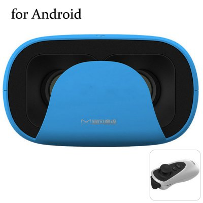 Baofeng Mojing D 3D VR Glasses Virtual Reality Headset with Controller Distance for Android - BAOFENGVirtual Reality<br>Baofeng Mojing D 3D VR Glasses Virtual Reality Headset with Controller Distance for Android<br><br>Brand: Baofeng<br>Model: Mojing D<br>VR Glasses Type: VR Headset<br>Compatible with: Smartphones<br>Material: ABS,Foam<br>Color: Blue,Pink,White,Yellow<br>Smartphone Compatibility: 5.0 - 6.0 inch<br>Product weight: 0.300 kg<br>Package weight: 0.500 kg<br>Product size (L x W x H): 9.80 x 13.80 x 17.00 cm / 3.86 x 5.43 x 6.69 inches<br>Package size (L x W x H): 12.00 x 15.00 x 20.00 cm / 4.72 x 5.91 x 7.87 inches<br>Package Contents: 1 x 3D Glasses, 1 x Remote Controller