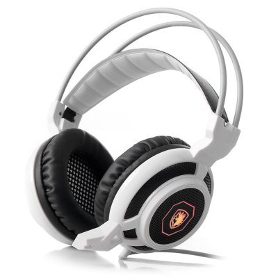 SADES USB Gaming Headset with MicGaming Headphones<br>SADES USB Gaming Headset with Mic<br><br>Brand: Sades<br>Color: White,Yellow<br>Wearing type : Headband<br>Function: Microphone,Voice control<br>Headset type: Dynamic<br>Connectivity : Wired<br>Application: Computer,Mobile phone,Portable Media Player,Sport<br>Plug Type: 3.5mm,AUX-IN,Full-sized,USB<br>Cable Length (m): 2.2m<br>Driver unit: 40mm<br>Frequency response: 20-20000Hz<br>Impedance: 16ohms<br>Sensitivity: 111 dB ± 3dB<br>Microphone impedance : 2.2Kohm below<br>Micphone Sensitivity: -37db ± 3db<br>Product weight: 0.242 kg<br>Package weight: 0.500 kg<br>Product size (L x W x H): 8.00 x 19.00 x 20.00 cm / 3.15 x 7.48 x 7.87 inches<br>Package size (L x W x H): 9.00 x 22.00 x 23.50 cm / 3.54 x 8.66 x 9.25 inches<br>Package Contents: 1 x SADES Game Headset, 1 x English and Chinese User Manual