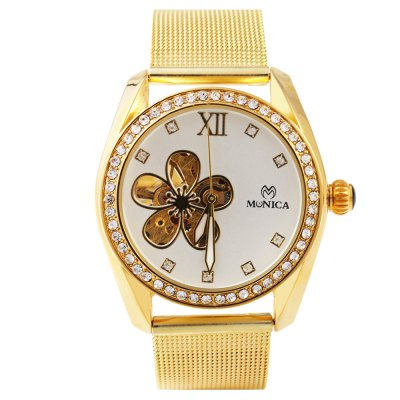 ФОТО Monica 6853 Hollow-out Female Automatic Mechanical Watch