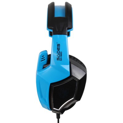 SADES SA-920 Gaming Headset 3.5mm Plug with MicGaming Headphones<br>SADES SA-920 Gaming Headset 3.5mm Plug with Mic<br><br>Application: Computer, Computer, Mobile phone, Mobile phone, Portable Media Player, Portable Media Player<br>Brand: Sades, Sades<br>Cable Length (m): 1.5 m, 1.5 m<br>Compatible with: Computer, Computer<br>Connectivity: Wired, Wired<br>Frequency response: 20-20000Hz, 20-20000Hz<br>Function: Microphone, Microphone, Voice control, Voice control<br>Impedance: 16ohms, 16ohms<br>Model: SA-920, SA-920<br>Package Contents: 1 x SADES SA-920 Game Headset, 1 x 3.5mm Jack Cable 1 to 2, 1 x Adapter for Xbox 360, 1 x English User Manual, 1 x SADES SA-920 Game Headset, 1 x 3.5mm Jack Cable 1 to 2, 1 x Adapter for Xbox 360, 1 x English User Manual<br>Package size (L x W x H): 8.80 x 22.00 x 24.00 cm / 3.46 x 8.66 x 9.45 inches, 8.80 x 22.00 x 24.00 cm / 3.46 x 8.66 x 9.45 inches<br>Package weight: 0.510 kg, 0.510 kg<br>Plug Type: 3.5mm, 3.5mm, Full-sized, Full-sized<br>Product size (L x W x H): 7.50 x 17.50 x 19.00 cm / 2.95 x 6.89 x 7.48 inches, 7.50 x 17.50 x 19.00 cm / 2.95 x 6.89 x 7.48 inches<br>Product weight: 0.242 kg, 0.242 kg<br>Sensitivity: 111 dB ± 3dB, 111 dB ± 3dB<br>Wearing type: Headband, Headband