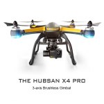 Hubsan H109S X4 PRO 5.8G Drone 3-axis Brushless Gimbal 7CH 6-axis Gyro / 1080P HD…