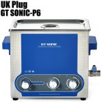 GT SONIC-P6 Ultrasonic Cleaner Washing Equipment Adjustable Power with Heating / Timing Function
