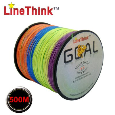 LineThink 500m Colorful Fishing LineFishing Lines<br>LineThink 500m Colorful Fishing Line<br><br>Brand: LineThink<br>Material: PE<br>Length (m): 500m<br>Color: Multi-color<br>Product weight: 0.210 kg<br>Package weight: 0.260 kg<br>Product size (L x W x H): 11.00 x 11.00 x 8.00 cm / 4.33 x 4.33 x 3.15 inches<br>Package size (L x W x H): 18.00 x 15.00 x 10.00 cm / 7.09 x 5.91 x 3.94 inches<br>Package Contents: 1 x LineThink 500m Colorful Fishing Line