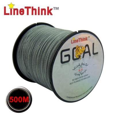 LineThink 500m Fishing LineFishing Lines<br>LineThink 500m Fishing Line<br><br>Brand: LineThink<br>Material: PE<br>Length (m): 500m<br>Color: Gray,Green<br>Product weight: 0.210KG<br>Package weight: 0.260 KG<br>Product size (L x W x H): 11.00 x 11.00 x 8.00 cm / 4.33 x 4.33 x 3.15 inches<br>Package size (L x W x H): 18.00 x 15.00 x 10.00 cm / 7.09 x 5.91 x 3.94 inches<br>Package Contents: 1 x LineThink 500m Fishing Line