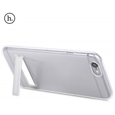 HOCO 4.7 Inch Transparent TPU Phone Case Magnetic Stand for iPhone 6 / 6S