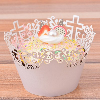 50PCS Hollow Out Cross Shape Baking Cake CupsBaking Mats &amp; Liners<br>50PCS Hollow Out Cross Shape Baking Cake Cups<br><br>Type: Other Kitchen Accessories<br>Material: Paper<br>Available color: Multi-Colored<br>Product Weights: 0.100kg<br>Package Weights: 0.140kg<br>Product size (L x W x H): 8.00 x 8.00 x 5.00 cm / 3.15 x 3.15 x 1.97 inches<br>Package size (L x W x H): 23.00 x 7.00 x 10.00 cm / 9.06 x 2.76 x 3.94 inches<br>Package Contents: 50 x Baking Cake Cup