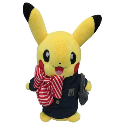 Manchuang Pokemon Pikachu Plush Toy Stuffed Doll 20cm Home Decoration Great Gift