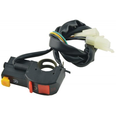 Motorcycle Handlebar Light / Horn / Shutdown Switch