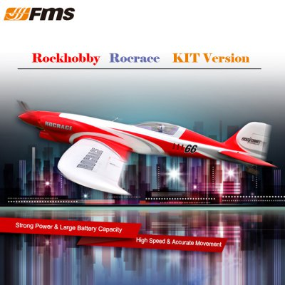 FMS Rockhobby NXT - 1100 Rocrace Warplane Glider KIT Version
