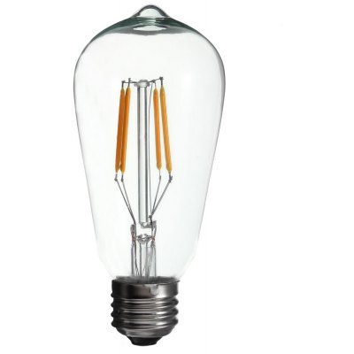 BRELONG ST58 E27 4 x COB 4W 400Lm LED Filament Bulb