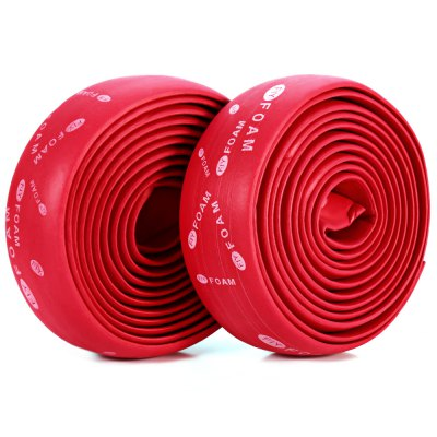 2pcs Cycling Bike Cycle Cork Handlebar Rubber Tape Wrap