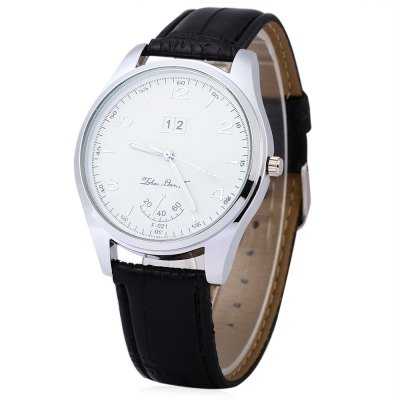 Casual Male Quartz WatchMens Watches<br>Casual Male Quartz Watch<br><br>Watches categories: Male table<br>Watch style: Casual,Fashion<br>Available color: Black,Brown<br>Movement type: Quartz watch<br>Shape of the dial: Round<br>Display type: Analog<br>Case material: Alloy<br>Case color: Silver<br>Band material: Leather<br>Clasp type: Pin buckle<br>Band color: Black,Brown<br>Water resistance : 30 meters<br>The dial thickness: 0.8 cm / 0.31 inches<br>The dial diameter: 4 cm / 1.57 inches<br>The band width: 1.9 cm / 0.75 inches<br>Wearable length: 19.5 - 25.5 cm / 7.68 - 10.04 inches<br>Product weight: 0.035 kg<br>Package weight: 0.079 kg<br>Product size (L x W x H): 25.50 x 4.20 x 0.80 cm / 10.04 x 1.65 x 0.31 inches<br>Package size (L x W x H): 26.50 x 5.20 x 1.80 cm / 10.43 x 2.05 x 0.71 inches<br>Package Contents: 1 x Male Watch