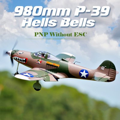 FMS P - 39 Hells Bells 980mm Wingspan EPO Glider Aeroplane PNP Without ESC