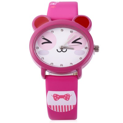 KEZZI K - 666 Kids Quartz WatchKids Watches<br>KEZZI K - 666 Kids Quartz Watch<br><br>Watches categories: Children watch<br>Watch style: Lovely<br>Movement type: Quartz watch<br>Shape of the dial: Round<br>Display type: Analog<br>Case material: Stainless Steel<br>Band material: Leather<br>Clasp type: Pin buckle<br>Water resistance : 30 meters<br>The dial thickness: 8 mm<br>The dial diameter: 32 mm<br>The band width: 14 mm<br>Wearable length: 145 mm - 188 mm<br>Product weight: 0.026KG<br>Package weight: 0.066 KG<br>Product size (L x W x H): 21.00 x 3.50 x 0.80 cm / 8.27 x 1.38 x 0.31 inches<br>Package size (L x W x H): 22.00 x 4.50 x 1.80 cm / 8.66 x 1.77 x 0.71 inches<br>Package Contents: 1 ? KEZZI 666 Kids Quartz Watch