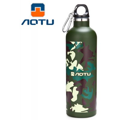 AOTU AT6647 600ml Vacuum Insulated Water Bottle