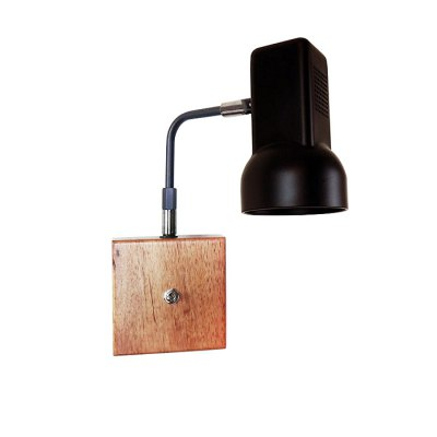 Retro Swing Arm LED Wall Lamp Bedside Reading LightWall Lights<br>Retro Swing Arm LED Wall Lamp Bedside Reading Light<br><br>Type: Wall Light<br>Shade Material: Iron,Wood<br>Bulb Included: Yes<br>Power Output: 40W<br>Quantity of Spots: 1<br>Luminous Flux: 500LM<br>CCT/Wavelength: 2700-3200K<br>Input Voltage: AC 220V<br>Light Color: Warm White,White<br>Package weight: 1.000 KG<br>Product size (L x W x H): 13.00 x 12.00 x 9.20 cm / 5.12 x 4.72 x 3.62 inches<br>Package size (L x W x H): 35.00 x 35.00 x 35.00 cm / 13.78 x 13.78 x 13.78 inches<br>Package Contents: 1 x Swing Arm Light