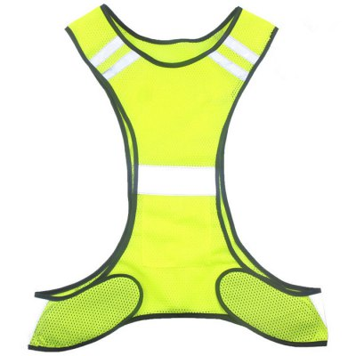 Ultra Thin Unisex Night Running Reflective Mesh VestCycling Clothings<br>Ultra Thin Unisex Night Running Reflective Mesh Vest<br><br>Feature: Breathable<br>Package Contents: 1 x Ultra Thin Unisex Night Running Reflective Mesh Vest<br>Package size (L x W x H): 10.00 x 2.00 x 20.00 cm / 3.94 x 0.79 x 7.87 inches<br>Package weight: 0.160 kg<br>Product weight: 0.072 kg<br>Size: One Size<br>Suitable Crowds: Unisex