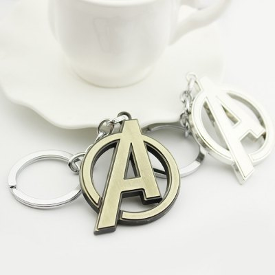 A-Shaped Design Car Decoration Creative Key ChainCar Ornaments &amp; Pendant<br>A-Shaped Design Car Decoration Creative Key Chain<br><br>Type: Other Decorations<br>Material: Metal<br>Color: Coppery,Silver<br>Product weight: 0.032KG<br>Package weight: 0.100 KG<br>Product size (L x W x H): 5.50 x 4.00 x 1.00 cm / 2.17 x 1.57 x 0.39 inches<br>Package size (L x W x H): 7.00 x 7.00 x 2.00 cm / 2.76 x 2.76 x 0.79 inches<br>Package Contents: 1 x Key Chain