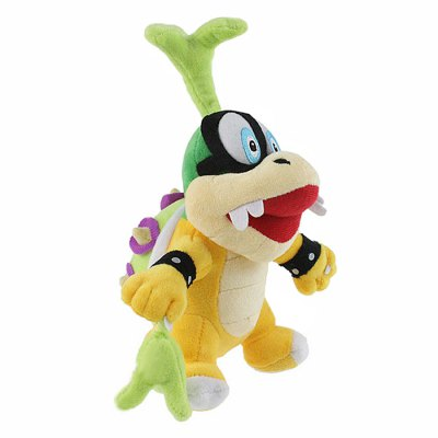 17cm / 6.7 inch Lggy Koopa Style Plush Toy Home Office Decor