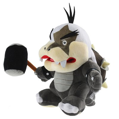 21cm / 8 inch Morton Koopa Style Plush Toy Home Office Decor