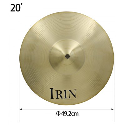 IRIN Ride Cymbal for Drum Set 20 inch Musical Instrument Accessory