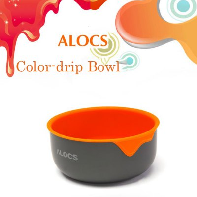 ALOCS TW-405 400ML Dual Layer Color-drip BowlCamp Kitchen<br>ALOCS TW-405 400ML Dual Layer Color-drip Bowl<br><br>Brand: Alocs<br>Model Number: TW-405<br>Type: Tableware<br>Best Use: Backpacking,Camping,Climbing,Hiking<br>Features: Compact size,Durable,Easy to use,Foldable,Portable,Ultralight<br>Product weight: 0.100 kg<br>Package weight: 0.130 kg<br>Product Dimension: 11.00 x 11.00 x 5.50 cm / 4.33 x 4.33 x 2.17 inches<br>Package Dimension: 12.00 x 12.00 x 6.00 cm / 4.72 x 4.72 x 2.36 inches<br>Package Contents: 1 x ALOCS TW-405 Color-drip Bowl