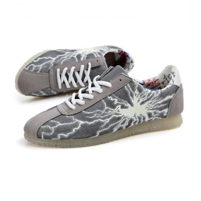 Male Thunder Pattern Casual Luminous SneakersShoes<br>Male Thunder Pattern Casual Luminous Sneakers<br><br>Size: 39,40,41,42,43,44<br>Gender: Men<br>Season: Autumn,Spring,Winter<br>Closure Type: Lace-Up<br>Sole Material: Rubber<br>Upper Height: Low<br>Highlights: Breathable,Sweat Absorbing<br>Product weight: 0.680 kg<br>Package weight: 0.890 kg<br>Package size: 28.00 x 21.00 x 10.00 cm / 11.02 x 8.27 x 3.94 inches<br>Package Contents: 1 x Male Thunder Pattern Casual Luminous Sneakers