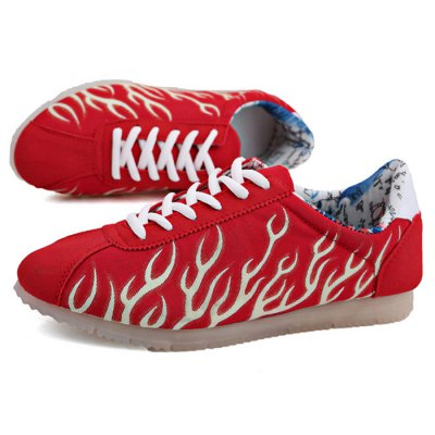 Unisex Coral Pattern Luminous Sneakers Graffiti LiningShoes<br>Unisex Coral Pattern Luminous Sneakers Graffiti Lining<br><br>Size: 38,39,40,41,42,43,44<br>Gender: Unisex<br>Season: Autumn,Spring,Winter<br>Closure Type: Lace-Up<br>Sole Material: Rubber<br>Upper Height: Low<br>Product weight: 0.680 kg<br>Package weight: 0.890 kg<br>Package size: 28.00 x 21.00 x 10.00 cm / 11.02 x 8.27 x 3.94 inches<br>Package Contents: 1 x Unisex Coral Pattern Luminous Sneakers