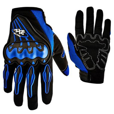 AXE Summer Motorcycle Protective GlovesMotorcycle Gloves<br>AXE Summer Motorcycle Protective Gloves<br><br>Accessories type: Motorcycle Gloves<br>Gender: Universal<br>Function: Breathable,Wearable,Windproof<br>Material: Dacron,Rubber<br>Size: L,M,XL<br>Color: Black,Blue,Red<br>Product weight: 0.140KG<br>Package weight: 0.240 KG<br>Package size (L x W x H): 30.00 x 13.00 x 5.00 cm / 11.81 x 5.12 x 1.97 inches<br>Package Contents: 1 x Pair Gloves