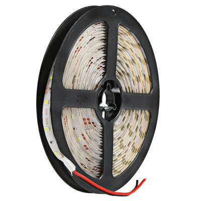 5 Meters 12V 3528 SMD LED Strip Lamp with 300 LEDsLED Strips<br>5 Meters 12V 3528 SMD LED Strip Lamp with 300 LEDs<br><br>Type: LED Strip<br>Features: IP-65,Low Power Consumption,Waterproof<br>LED type: SMD-3528<br>Number of LEDs: 300 LEDs<br>Light Color: Blue,Cool White,Green,Pink,Red,Warm White,Yellow<br>Input Voltage: DC12<br>Product weight: 0.094 kg<br>Package weight: 0.318 kg<br>Package size (L x W x H): 19.00 x 18.60 x 6.20 cm / 7.48 x 7.32 x 2.44 inches<br>Package Contents: 1 x 300 LEDs 3528 SMD LED Strip Lamp, 1 x Adapter, 1 x DC Receptor