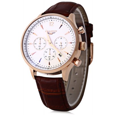 GUANQIN GQ001 Water Resistance Male Japan Quartz Watch