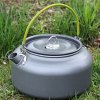 AOTU DS-12 1.2L Aluminum Camping Tea Kettle