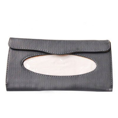 ZJH-005 Car Sun Visor Tissue BoxCar Ornaments &amp; Pendant<br>ZJH-005 Car Sun Visor Tissue Box<br><br>Type: Other Decorations<br>Material: PU Leather<br>Color: Beige,Black,Gray<br>Product weight: 0.120KG<br>Package weight: 0.210 KG<br>Product size (L x W x H): 23.00 x 13.00 x 2.50 cm / 9.06 x 5.12 x 0.98 inches<br>Package size (L x W x H): 25.00 x 15.00 x 4.00 cm / 9.84 x 5.91 x 1.57 inches<br>Package Contents: 1 x Tissue Box