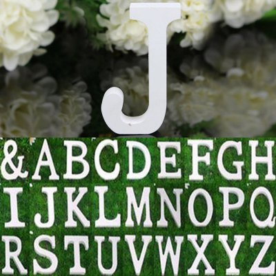 Wooden English Letter Decors