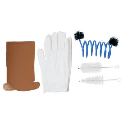 3 in 1 Trumpet Gloves Cleaning Kit