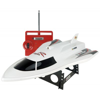 CREATE TOYS CT3362 2.4G 3 Channel Flying Fish Boat Water Induction System Protection