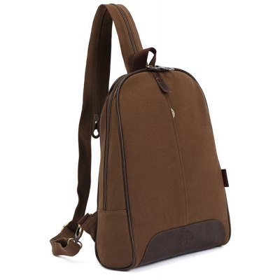 KAUKKO YP11 9L Canvas Women Preppy Style Backpack