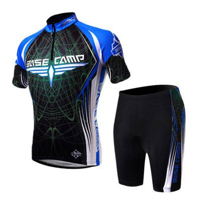 BASECAMP BC-522 Male Summer Cycling Short Sleeves Suits