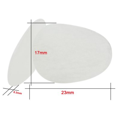 Фотография Alto Tenor Sax Transparent Mouthpiece Patch Pad - 8Pcs