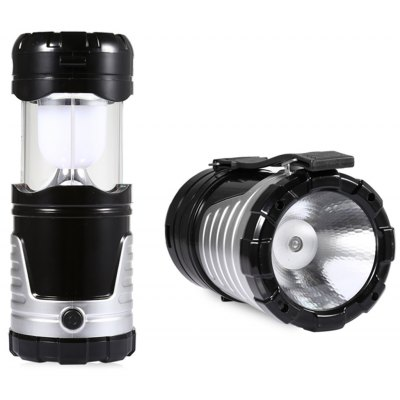 Rechargeable LED Collapsible USB Solar Camping Light