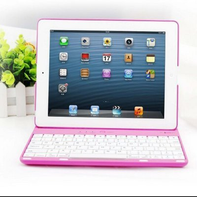 P3000 Bluetooth 3.0 Keyboard with Back Case for iPAD 2 / 3 / 4